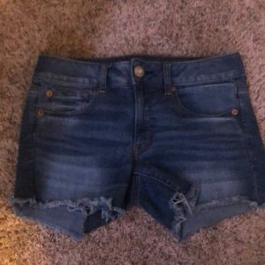 Blue American eagle outfitters denim jean shorts
